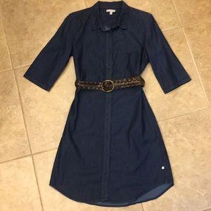 Calvin Klein Denim Shirt Dress